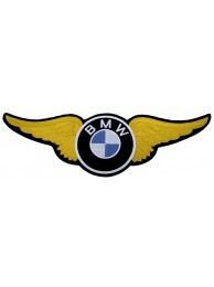 GIANT BMW BIKER WINGS EMBROIDERED PATCH (K1)
