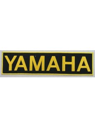 Ginat - Yamaha Biker Embroidered Patch (K) #04
