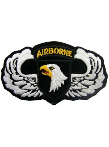 101ST AIRBORNE DIV WINGS PATCH