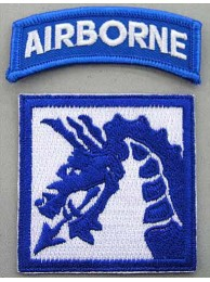 18TH AIRBORNE CORPS PATCH AR/AB/18ABC
