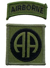82ND AIRBORNE DIV PATCH