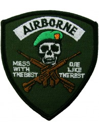 AIRBORNE MESS WITH THE BEST PATCH