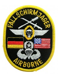 AIRBORNE USA - GERMANY PATCH