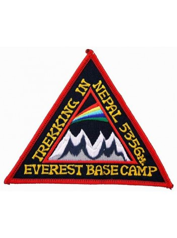 NEPAL MOUNT EVEREST BASE CAMP EMBROIDERED PATCH #03