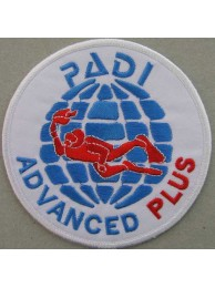PADI SCUBA - ADVANCED PLUS PATCH (A)