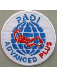 PADI SCUBA - ADVANCED PLUS PATCH (C)