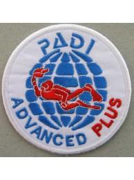 PADI SCUBA - ADVANCED PLUS PATCH (C)