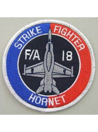 USN NAVY STRIKE FIGHTER F/A 18 HORNET PATCH
