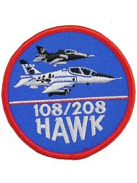 108/208 HAWK AIR FROCE PATCH