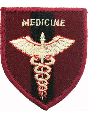 AMBULANCE IRON ON EMBROIDERED PATCH #03