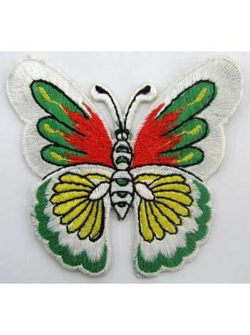 BUTTERFLY IRON ON EMBROIDEDRED PATCH #03
