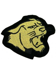 JAGUAR BIKER IRON ON EMBROIDERED PATCH #09