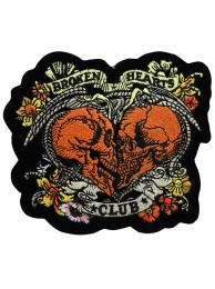 BROKEN HEARTS CLUB SKULL ROCK PATCH #01