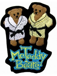 TWIN TEDDY BEARS PATCH
