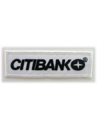 CITIBANK IRON ON EMBROIDERED PATCH