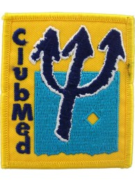 CLUB MED HOLIDAY IRON ON EMBROIDERED PATCH #03