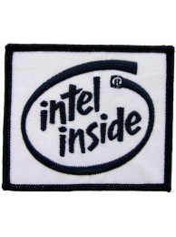 INTEL COMPUTER LOGO PATCH
