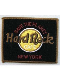 HARD ROCK CAFE NEW YORK EMBROIDERED PATCH