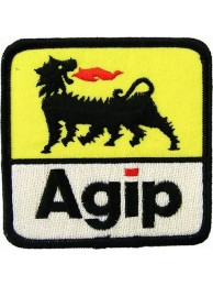 AGIP RACING IRON ON EMBROIDERED PATCH #03