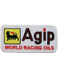 AGIP RACING IRON ON EMBROIDERED PATCH #04
