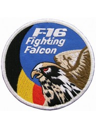 BELGIUM F16 FIGHTING FALCON PATCH