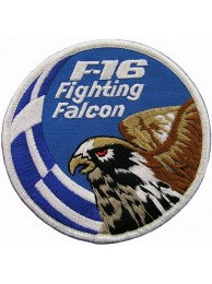 GREECE F16 FIGHTING FULCRUM PATCH