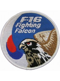 REPUBLIC OF KOREA F16 FIGHTING FULCRUM PATCH