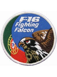 PORTUGAL F16 FIGHTING FULCRUM PATCH