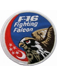 REPUBLIC OF SINGAPORE F16 FIGHTING FULCRUM PATCH