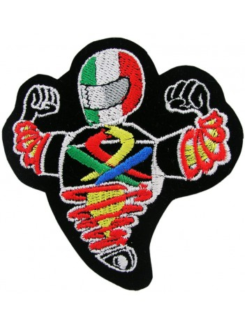 BENETTON F1 TEAM RACING EMBROIDERED PATCH #06