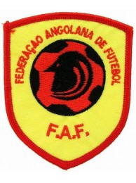 ANGOLA FOOTBALL FEDERATION PATCH