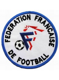 FRANCE FOOTBALL FEDERATION SOCCER EMBROIDERED PATCH #01