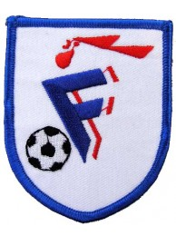 FRANCE FOOTBALL FEDERATION SOCCER EMBROIDERED PATCH #02