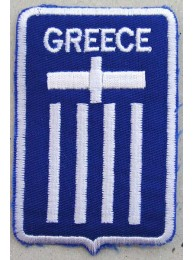 GREECE FOOTBALL FEDERATION SOCCER EMBROIDERED PATCH #01