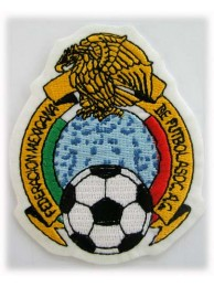 MEXICO FOOTBALL FEDERATION SOCCER EMBROIDERED PATCH #01