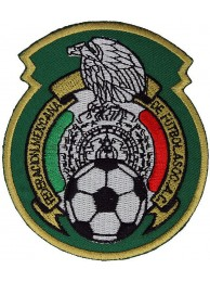 MEXICO MEXICANA FOOTBALL 2010 WORLD CUP PATCH #3