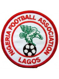 NIGERIA FOOTBALL ASSOCIATION SOCCER EMBROIDERED PATCH