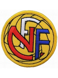NORWAY FOOTBALL ASSOCIATION SOCCER EMBROIDERED PATCH