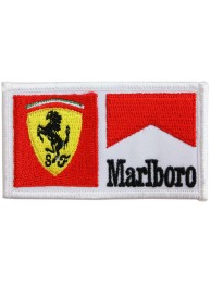 Ferrari / Marlboro F1 Racing Embroidered Patch #12