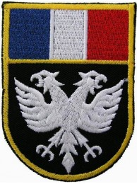 France Eagle Shield Flags