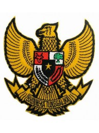 Indonesia National Flags Emblem