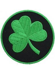 IRELAND IRISH ROUND FLAG EMBROIDERED PATCH