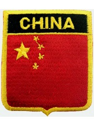 China Shield Flags