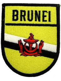 BRUNEI SHIELD FLAG PATCH (SB)