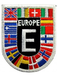 EUROPEAN UNION SHIELD FLAG PATCH (SB)