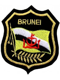 Brunei Darussalam Shield Flag