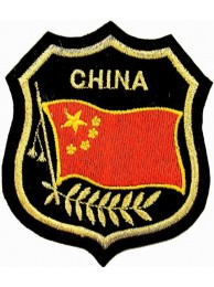 China Shield Flag
