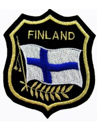 Finland Shield Flag