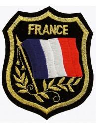 France Shield Flag