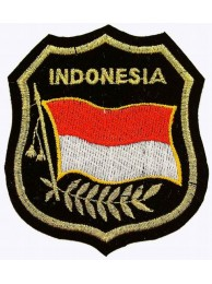 Indonesia Shield Flag